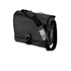 Чёрная сумка для документов Cascade