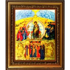 Икона на холсте Собор Пресвятой Богородицы