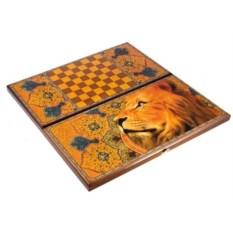 Игра настольная из дерева Лев