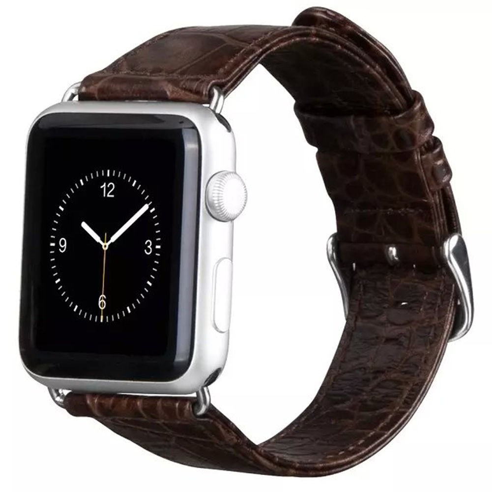 Ремешок для Apple Watch 38mm HOCO Crocodile Leather