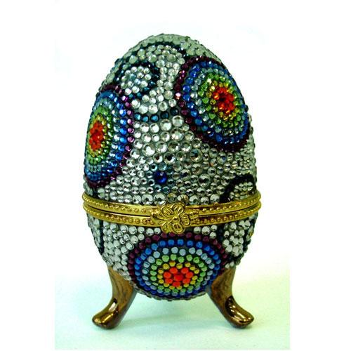 Яйцо - шкатулка «Фантазия»