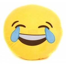 Подушка Смайлик, смеющийся до слез