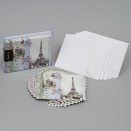 Набор дизайнерских открыток «Ла Бель Вье» с конвертами