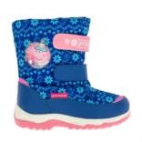 Синие сноубутсы для девочек Peppa Pig