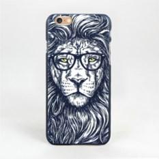 Чехол для iPhone Лев в очках