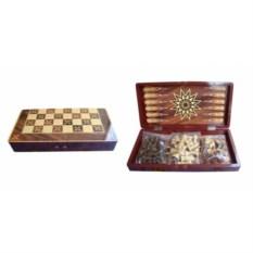 Набор настольных игр шахматы, нарды, шашки