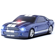 Мышь в виде RoadMice Ford Mustang Shelby GT 500 Blue