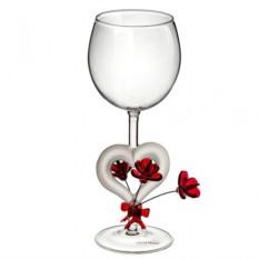 Бокал для вина Цветущее сердце