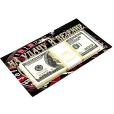 Сувенир Забавная пачка на удачу и везение 100 $
