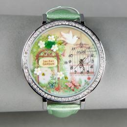 Зеленые часы «Миниатюра»