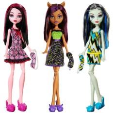 Основные герои Monster High от Mattel