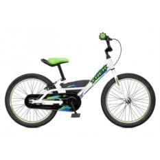 Детский велосипед Trek Jet 20 (2015) (White/Lime Green)