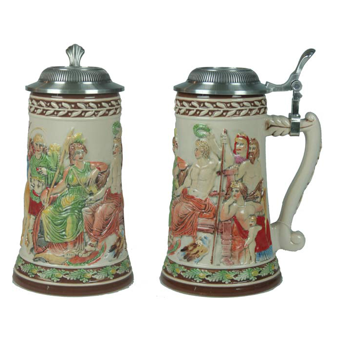 Пивная кружка коллекционная «Римский император»