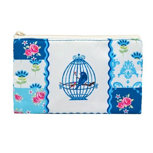 Косметичка Bird Cage Chintz (синяя)