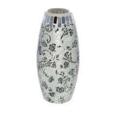 Декоративная ваза Серебро