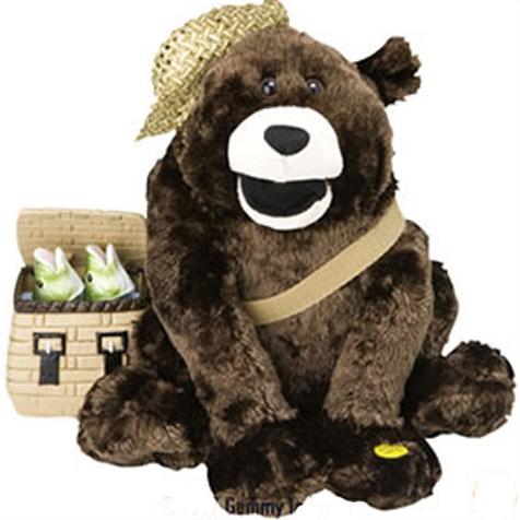Интерактивная игрушка «Поющий медведь»