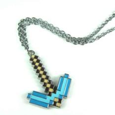 Кулон Майнкрафт алмазная кирка