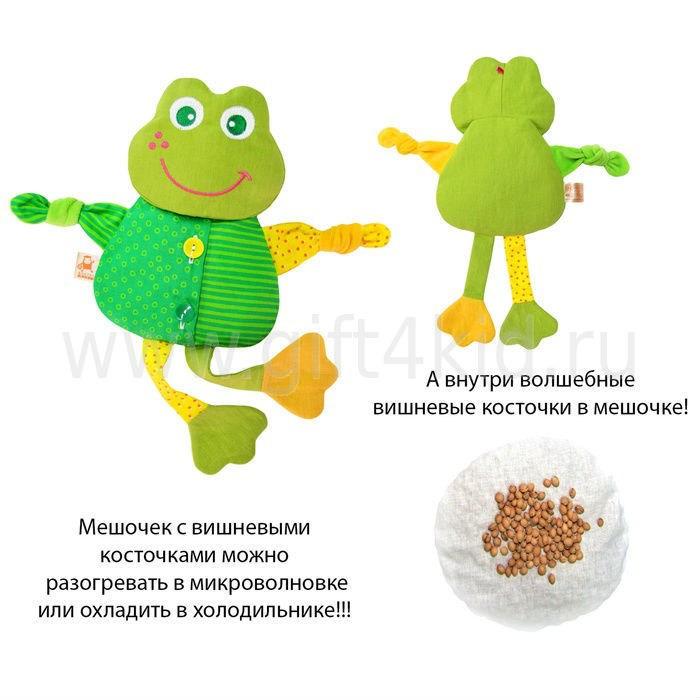 Термоигрушка Доктор Мякиш Лягушка