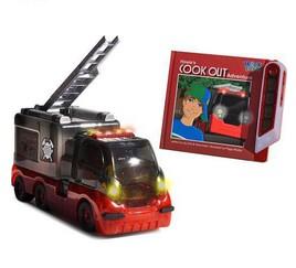 Радиоуправляемая игрушка «Пожарная машина» с книжкой