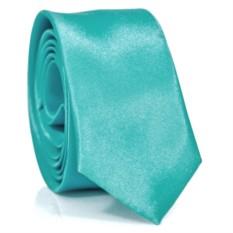 Узкий галстук (бирюзовый)