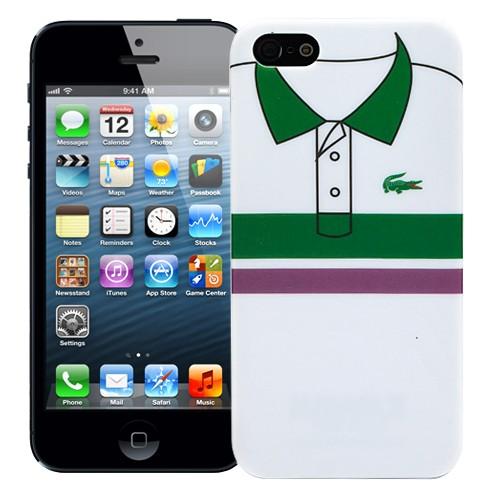 Чехол для iPhone 5/5S Green and purple stripes