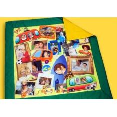 Развивающий детский коврик с фотографиями ребенка