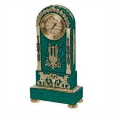 Интерьерные часы Спарта из бронзы и мрамора