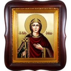 Икона на холсте Ирина Македонская Святая великомученица