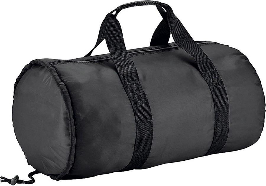 595901779dc8 Спортивная складная сумка, черная | Спортивные сумки | Подарки.ру