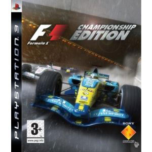 Игра для PS3: Formula One Championship Edition