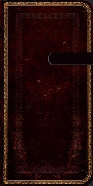Телефонная книга Paperblanks Чёрная марокканская кожа