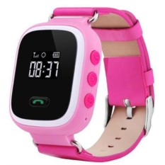 Розовые детские часы Smart Baby Watch Q60
