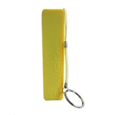 Желтый внешний аккумулятор 2600 mAh POWER bank