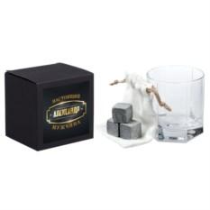 Именной набор для виски «Настоящий мужчина»