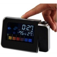 Часы с проектором и метеостанцией