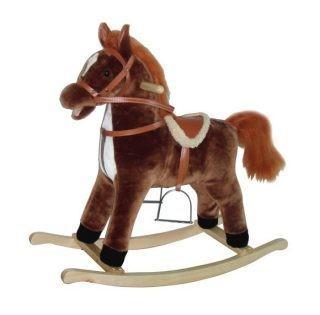 Лошадка-качалка на колесах со звуком галопа
