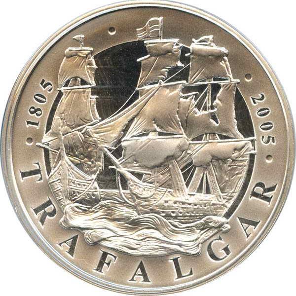 Монета «Трафальгар»