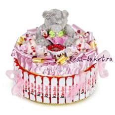 Торт-шкатулка Супер день рождения