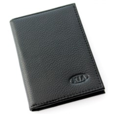 Бумажник для автодокументов с отделением для денег Kia