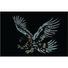Картина с кристаллами Swarovski Орел