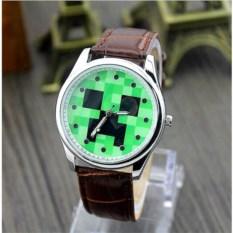 Механические наручные часы Крипер из Minecraft