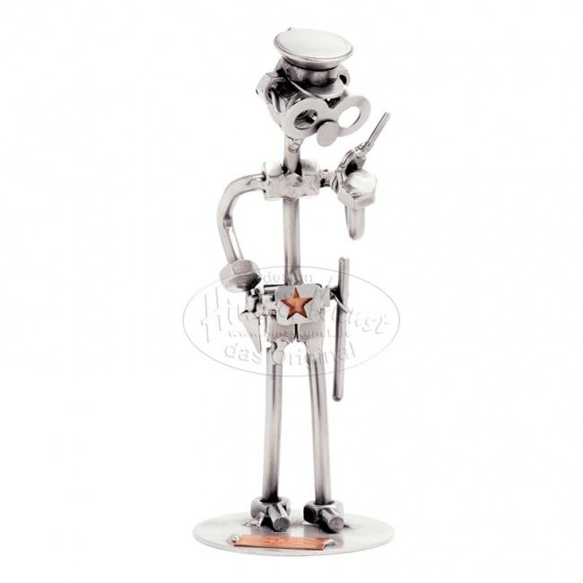 Металлическая статуэтка Полицейский, HINZ&KUNST