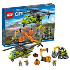 Конструктор Lego City Вертолёт исследователей вулканов