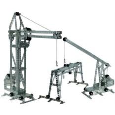 Металлический конструктор Краны (434 элемента)