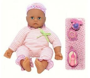 Коллекционная кукла «Мои первые зубки»