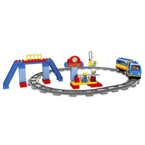 Рельсы Lego Duplo