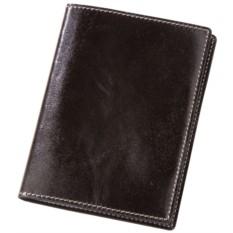 Черная обложка для автодокументов «Комфорт»