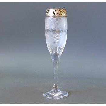 Набор фужеров для шампанского «Мозер»