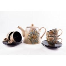 Чайный набор с заварником на 4 персоны
