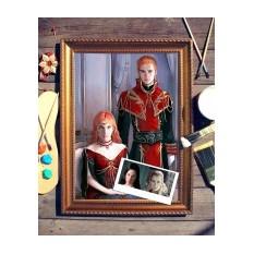 Парный портрет по фото В стиле фентези